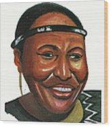 Miriam Makeba Wood Print