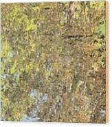 Mirroring Autumn Wood Print