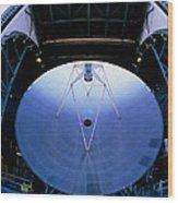Mirrors Of The James Clerk Maxwell Telescope, Jcmt Wood Print