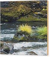 Misery Creek Wood Print