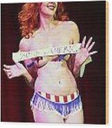 Miss America Wood Print