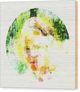 Miss. Sunshine 2 Wood Print
