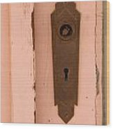 Missing A Knob Wood Print