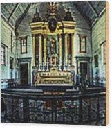 Mission California Wood Print