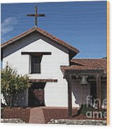 Mission Francisco Solano - Downtown Sonoma California - 5d19295 Wood Print