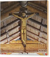 Mission San Antonio De Padua 2 Wood Print