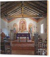 Mission San Antonio De Padua 3 Wood Print