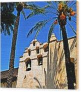 Mission San Gabriel Arcangel Wood Print