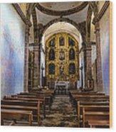 Mission San Javier Wood Print