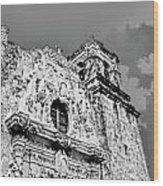 Mission San Jose San Antonio Tx Wood Print