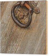 Mission San Juan Latch Wood Print