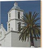 Mission San Luis Rey Iv Wood Print