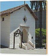 Mission San Rafael Arcangel Chapel Wood Print