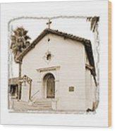 Mission San Rafael Arcangel - II Wood Print by Ken Evans