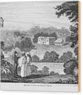 Missionary College, 1837 Wood Print
