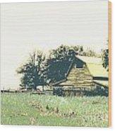 Mississippi Farm Old Highway 61  Wood Print
