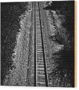 Missouri Pacific Railway Wood Print
