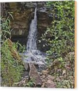 Missouri Waterfall Wood Print