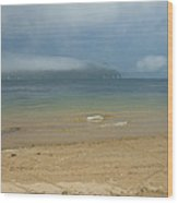 Mist Over Pittwater Wood Print