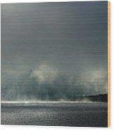 Misty Crossing-2 Wood Print