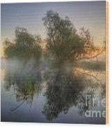 Misty Dawn 2.0 Wood Print