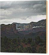 Misty Mountain II  Wood Print