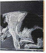 Mitzy Wood Print