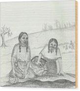 Mnokme Gtegedan Wood Print