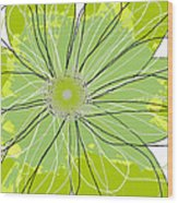 Moda Flower Mix I  Wood Print by Ricki Mountain