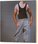 Model Robert Sorensen No. 14 Wood Print