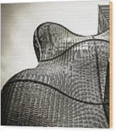 Modern Basket Weaving In London Wood Print