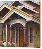 Modern Minehasa Home 1 Wood Print