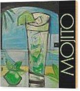 Mojito Poster Wood Print