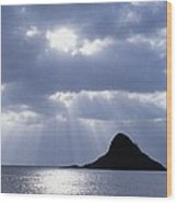 Mokolii Island Wood Print