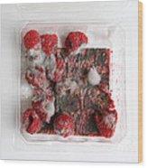 Moldy Raspberries Wood Print