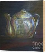 Mom's Teapot - Alice Wood Print