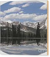Monarch Pass Lake Wood Print