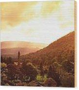 Monastic Site, Glendalough, Co Wicklow Wood Print