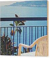 Mondello Bay Sicily Wood Print