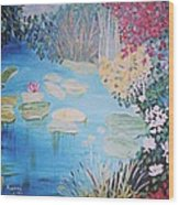 Monet Style By Alanna Wood Print by Alanna Hug-McAnnally