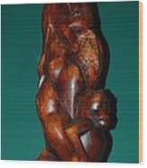 Monkey Carving Wood Print