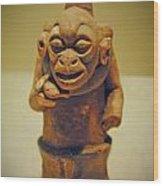Monkey Stone Wood Print
