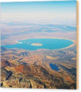 Mono Lake - Planet Earth Wood Print