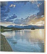 Mono Lake Majesty - California Wood Print by Brendan Reals