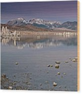 Mono Lake Panorama Wood Print