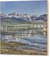 Mono Lake Sierra Wood Print