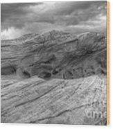 Monochrome Landscape Project 3 Wood Print