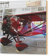 Monocoupe 110 . 7d11149 Wood Print by Wingsdomain Art and Photography