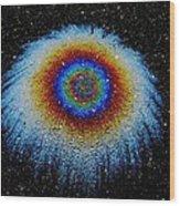 Monocular Vision Wood Print by Samuel Sheats