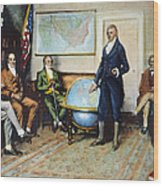 Monroe Doctrine, 1823 Wood Print